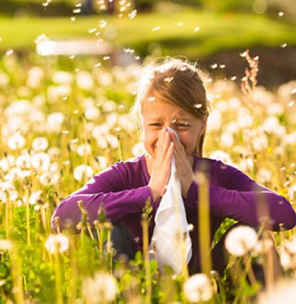 Vous souffrez d'allergies saisonnières?