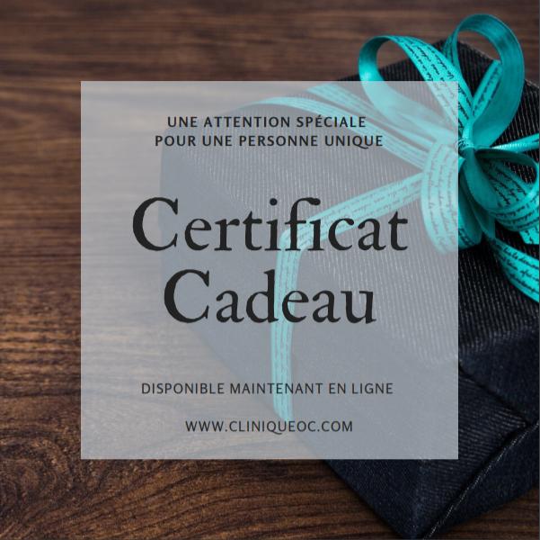Horaire des fêtes et certificats cadeaux!